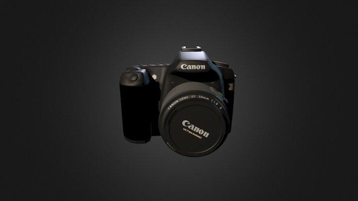 Canon Obj 3D Model