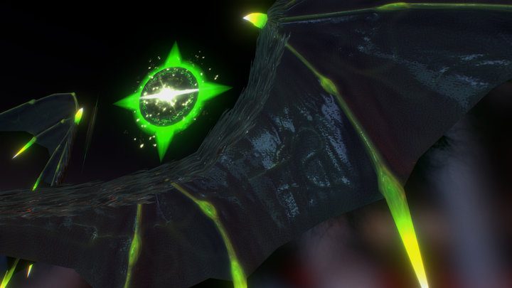 Dark Wings 3D Model
