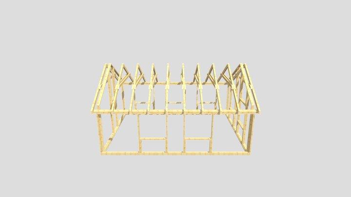 LF - konstrukcja 3D Model
