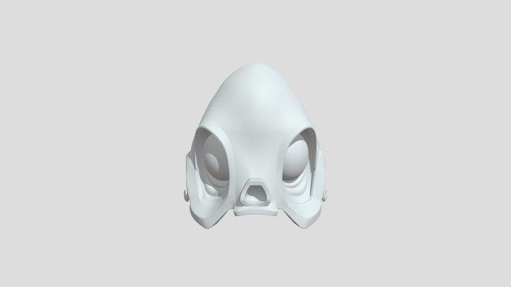 Skull 001 3D Model