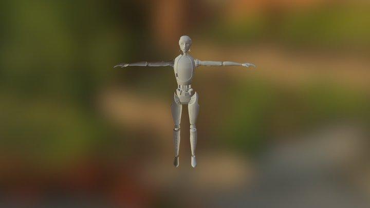 Female (school Project) 3D Model