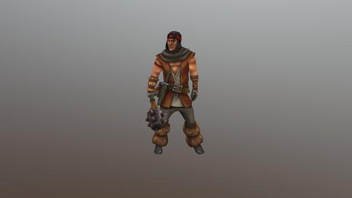Neutral Bandit 3D Model