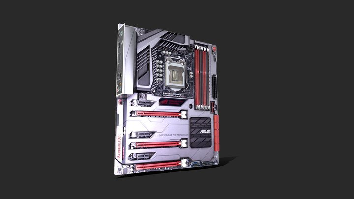 MAXIMUS VI Formula 3D Model