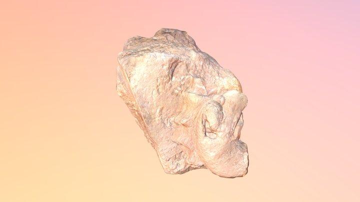 Conjunto de bloques esculpidos 3D Model