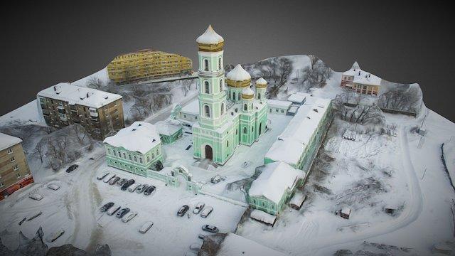 Holy Trinity Cathedral (Sludskaya church) 3D Model