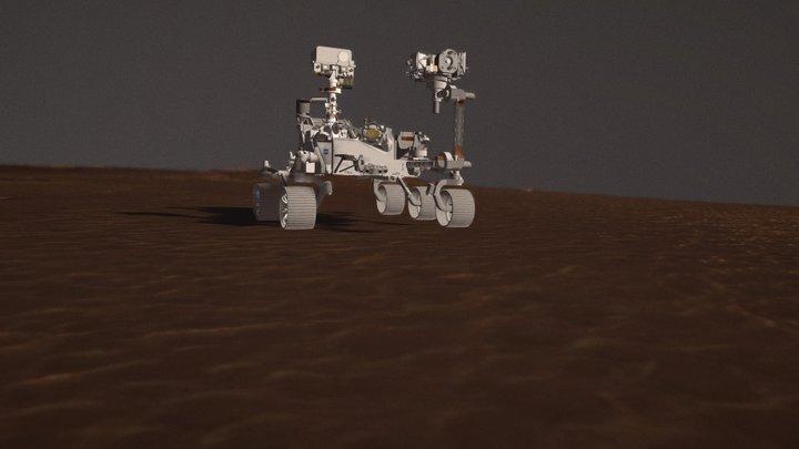 Mars Perseverance 3D Model