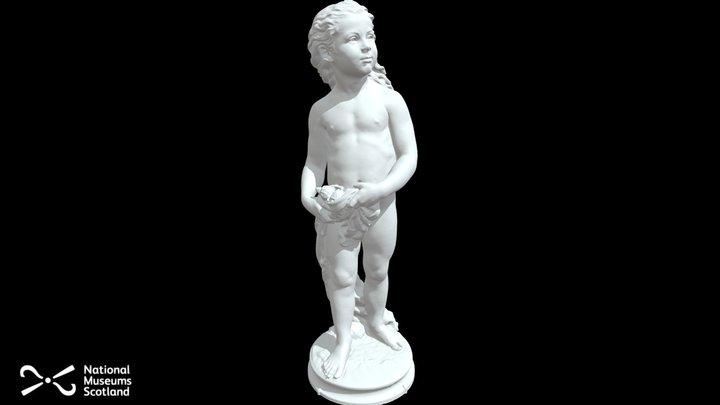 Arthur St Clair Marble Statue 3D Model