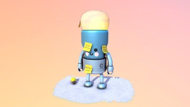 I.D.E.A bot! - 3December2019 - IDEA 3D Model