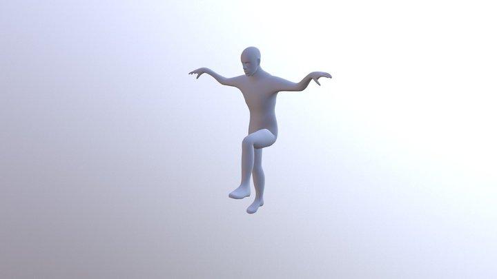 La Grulla (Pesado Vértice) 3D Model
