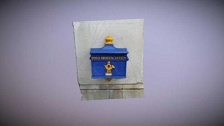 Historic Mailbox in Bremen 3D Model