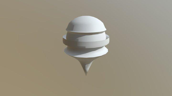 Scene Diorama - Unfinished 3D Model