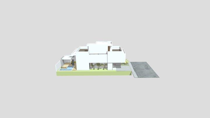 Tennis Park 3D Model