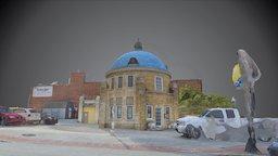 Tulsa's Iconic Blue Dome 3D Model