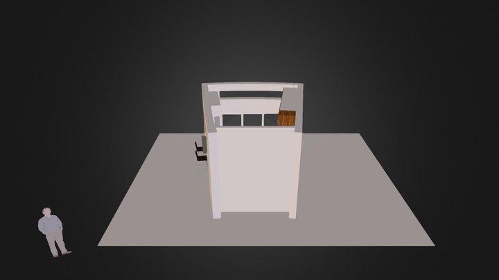 RK kitchen 3D Model