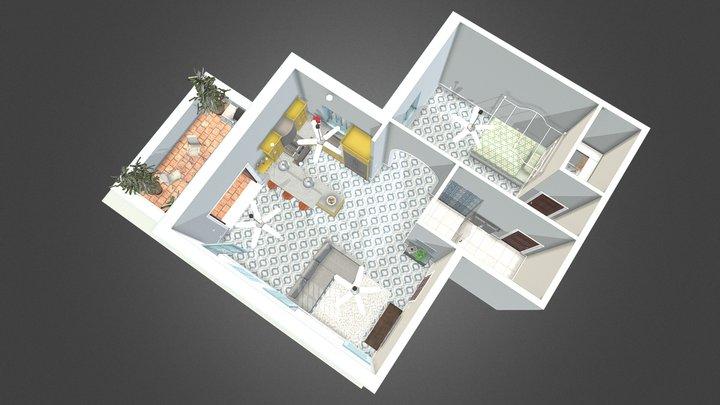 San Juan Apartment 3D Model