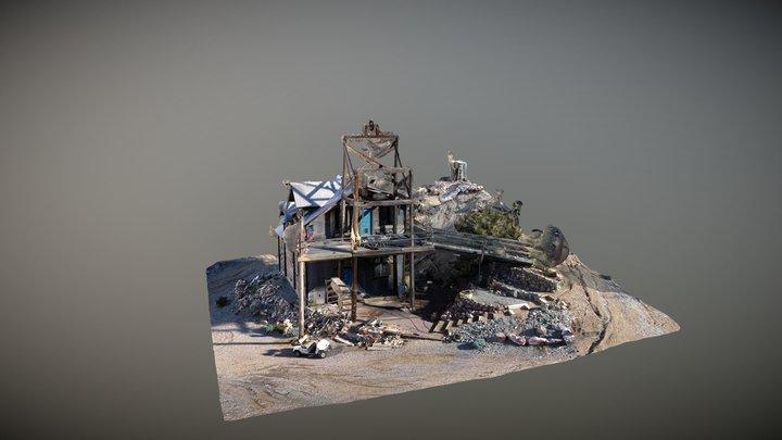 ELDORADO CANYON MINE 3D Model