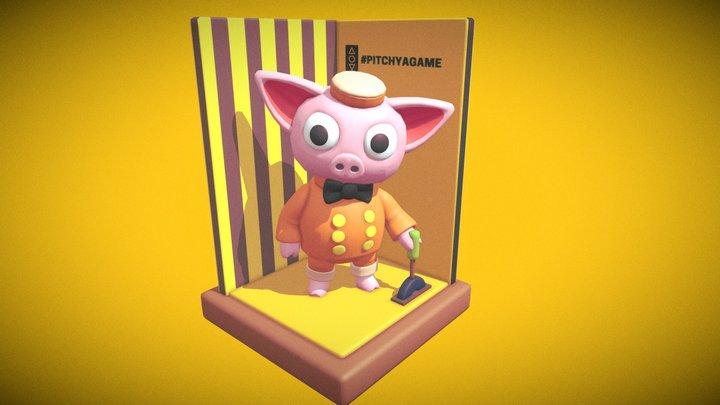 Pitch Ya Game (fan art) 3D Model
