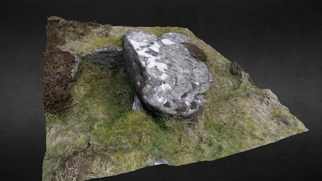 Lordenshaws Exposed Burial Cist 3D Model