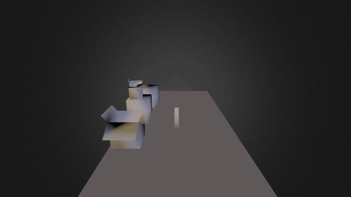 Boxes Test 3D Model