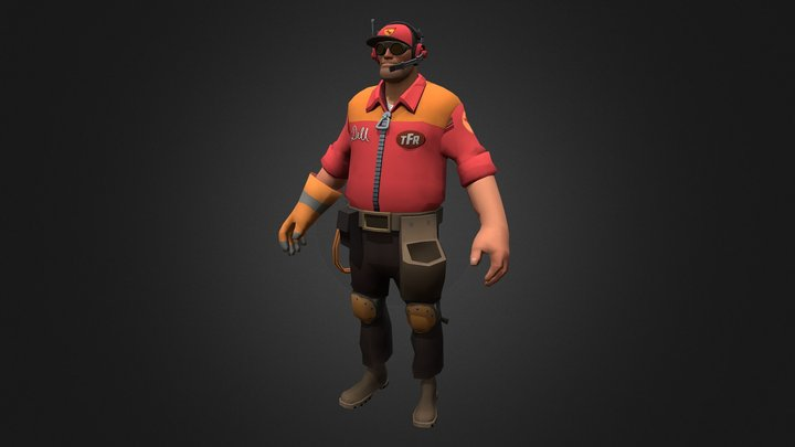 Engi Racing Set 3D Model