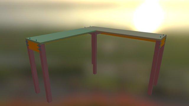 Sketch FABDESK 3D Model