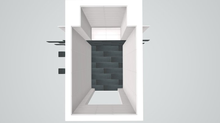 Линейная Туалет 3D Model