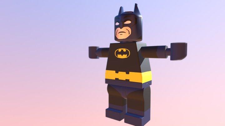 Lego Classical Batman 3D Model