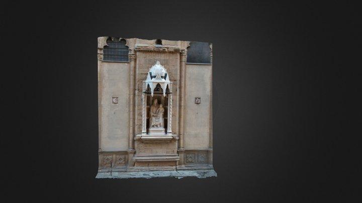 Madonna Of The Rose v2 3D Model