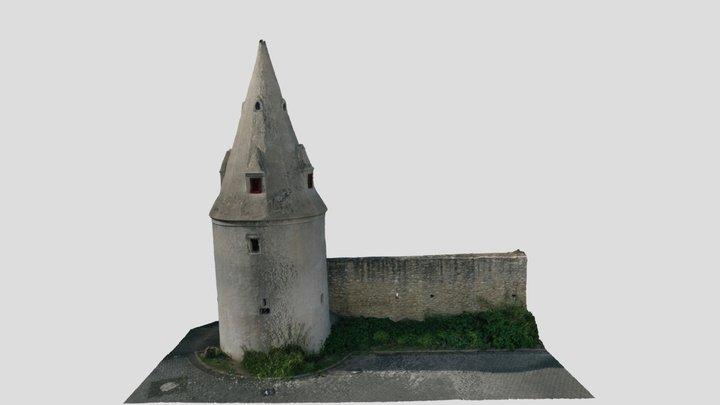 [SfM] Ortsbefestigung Ober-Ingelheim, Turm T8 3D Model