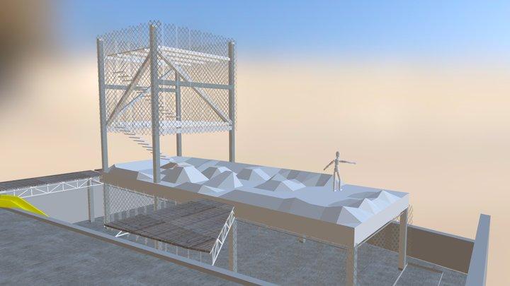 Espacios de Paz - Caracas 3D Model