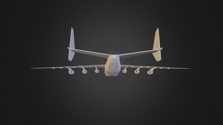 Antonov An 225 3D Model