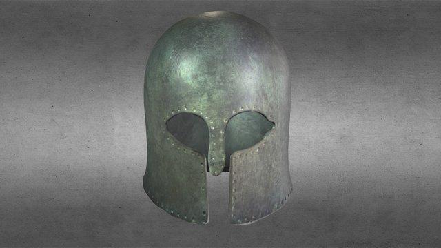 The original Corinthian Helmet 3D Model