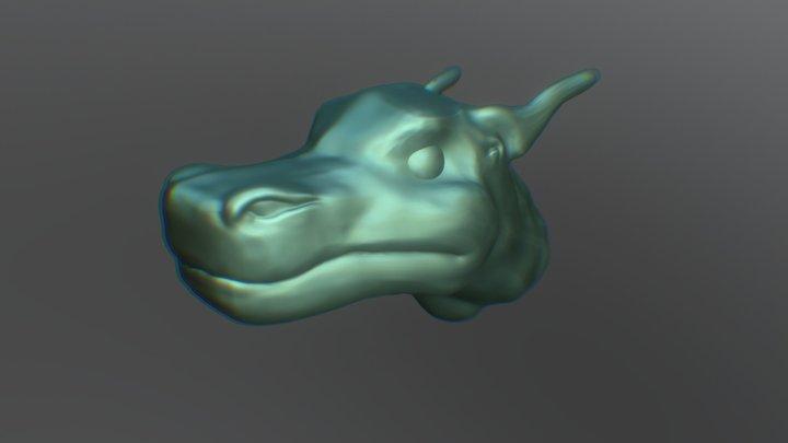 Day 26 - Dragon #SculptJanuary18 3D Model