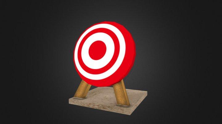 Game Target 3D Model