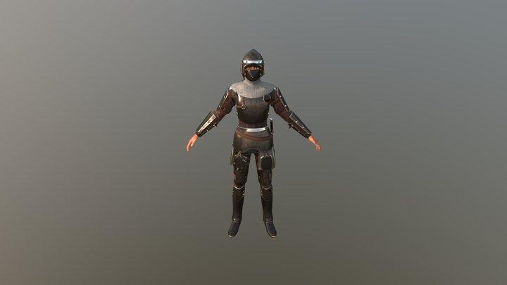 TAB Medieval Knight - 1 3D Model