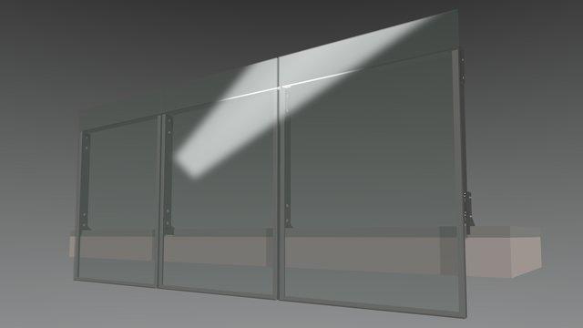 Balustrade Option 3 3D Model