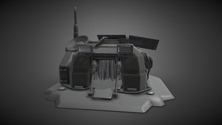 Demo Supply 04 WIP 3D Model
