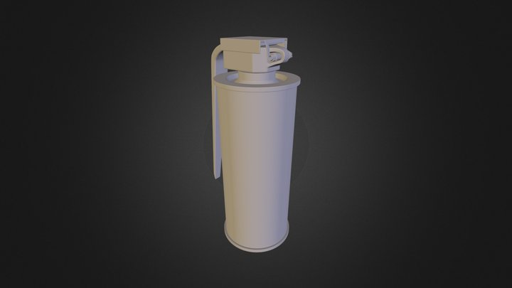 Grenade Fumigène / Flash 3D Model