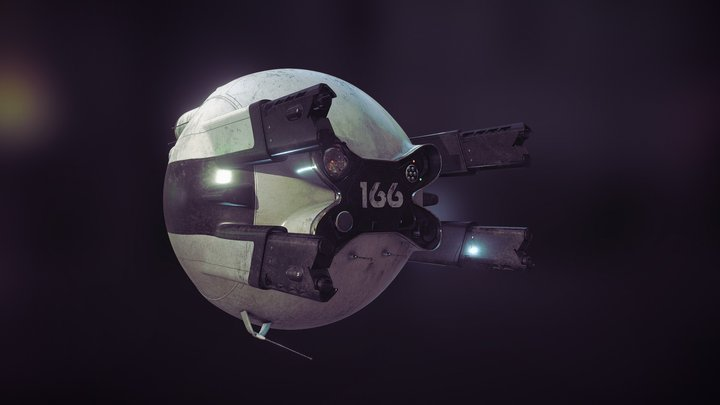Oblivion drone 3D Model