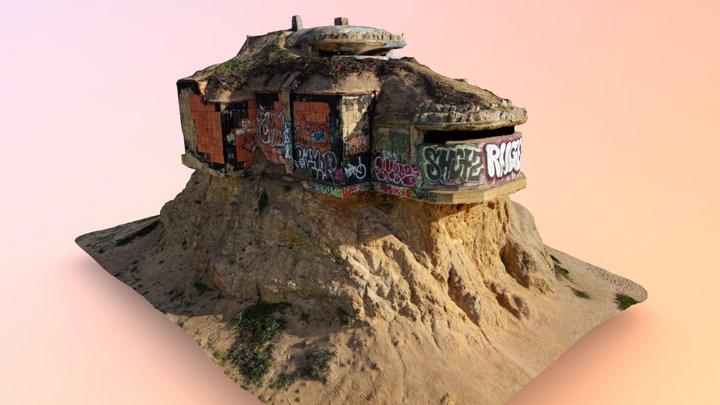 Devil's Slide Bunker - Pacifica, CA 3D Model