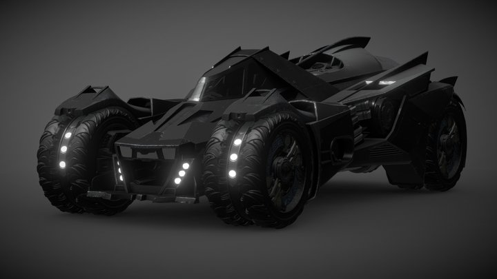 Bat Tank 3D Model