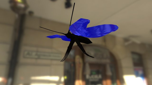 Mariposa 3D Model