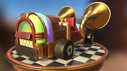 Jukeboxkart_Merlynn - Final Entry 3D Model