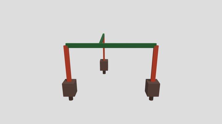 Estrutura 3D - Rosane - Jardim América 3D Model