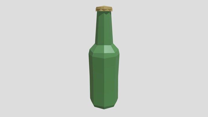 FoodTent Bottle 3D Model