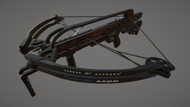 Carbon Express: Intercept Axon LT 3D Model