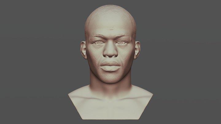 Jon Jones bust for 3D printing 3D Model