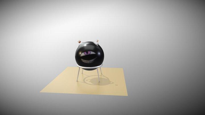 Homonuclus 3D Model