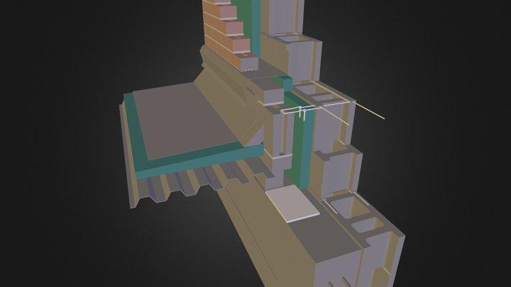 cerramiento tradicional 03.dae 3D Model