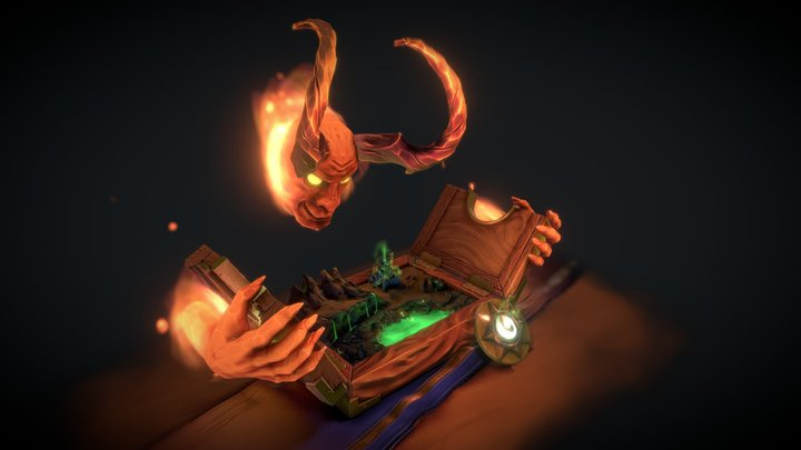 Playground of Sargeras 3D Model